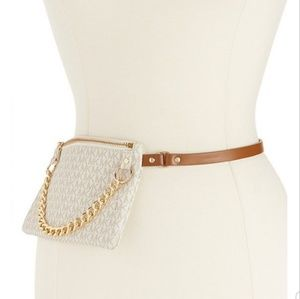 Michael Kors Pull Chain Belt Bag